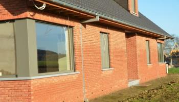 Volledige dakconstructie met dakkapellen