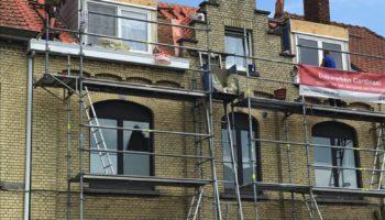 Renovatie dak in Ieper